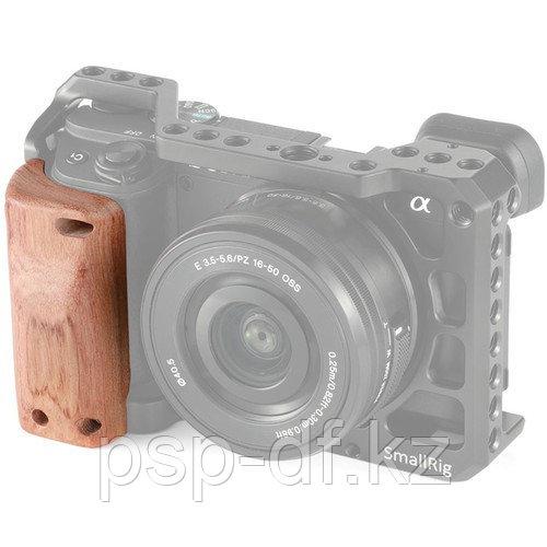 Деревянная рукоятка SmallRig Wooden Handgrip для Sony A6300/6400/6500 Cage APS2318