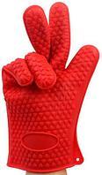 Перчатка-прихватка термостойкая силиконовая Hot Hands для горячего