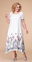 Платье Romanovich-1-1332/3, белый, 48
