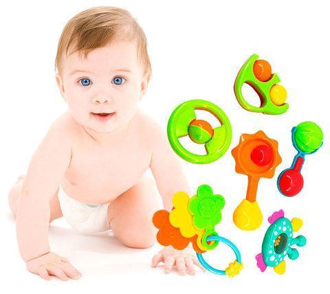 Набор детских погремушек Baby Toys (8 предметов), фото 2
