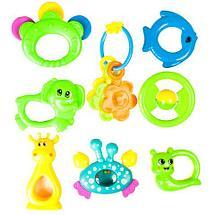 Набор детских погремушек Baby Toys (8 предметов), фото 3