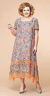 Платье Romanovich-1-1332/10, оранж, 52