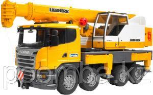 Автокран Bruder Scania 1:16 03570