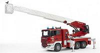 Спецтехника Bruder Scania Пожарная машина 1:16 03590