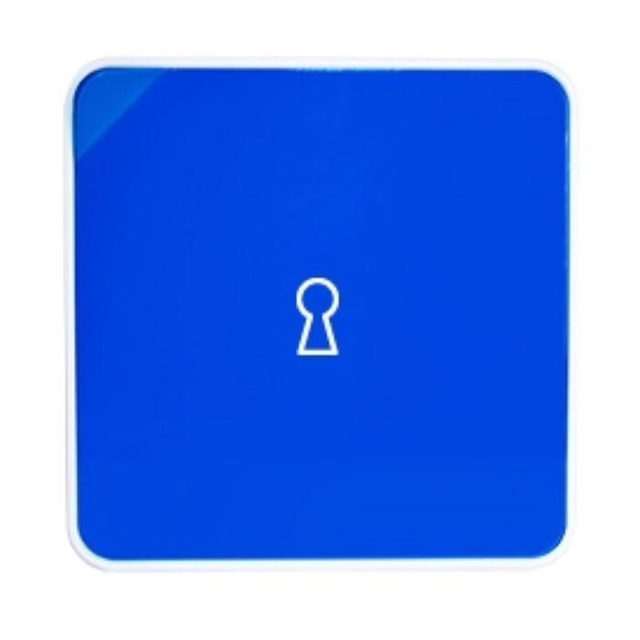 Ящик для ключей Byline, цвет синий