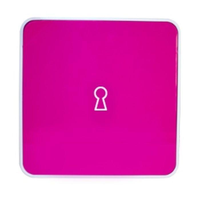 Ящик для ключей Byline, цвет розовый