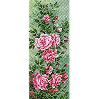 Канва с рисунком 'Матренин посад' 'Плетистая роза', 24*47 см