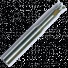 Концевые фрезы укороченные (спираль 40°)