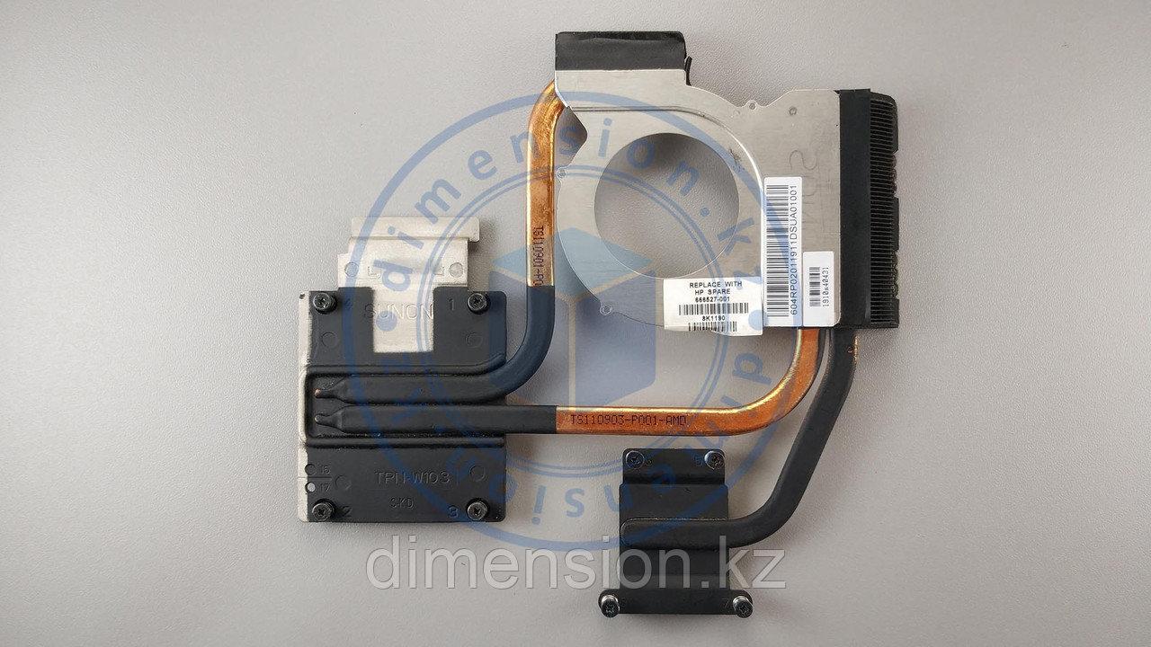 Радиатор, термотрубка для HP Pavilion dv7-6000 Series (под AMD)