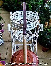 Корнеудалитель, длина 60 см, деревянная ручка.