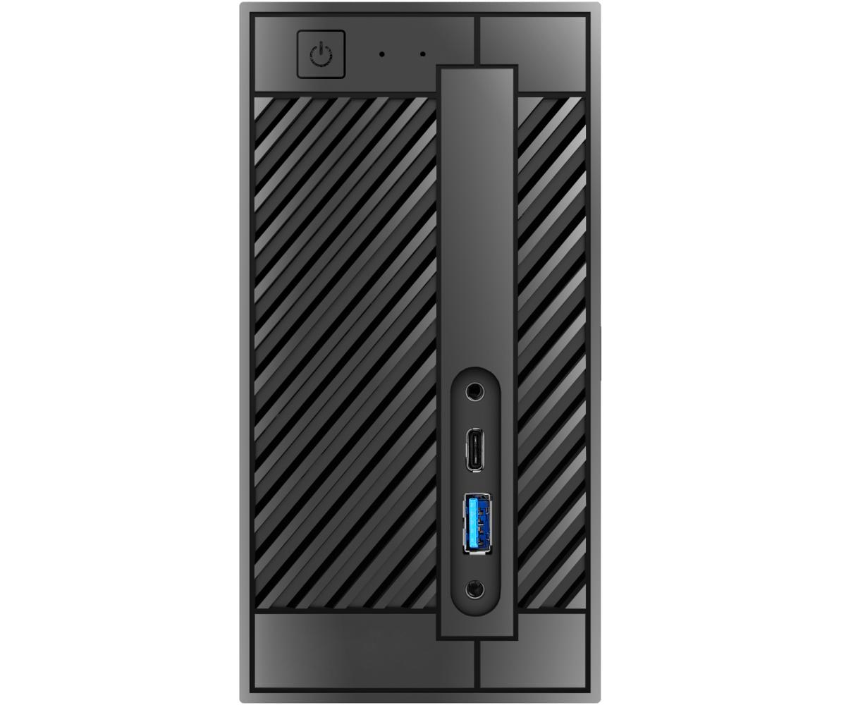 Мини-ПК ASRock DESKMINI 310/B/BB Barebone Supports Intel® 8th Processors (Socket 1151) (Max. TDP 65W), 2xSO-DI