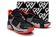 "Air Jordan Why Not Zer0.2 ""Black/Cement"" (40-46), фото 2"
