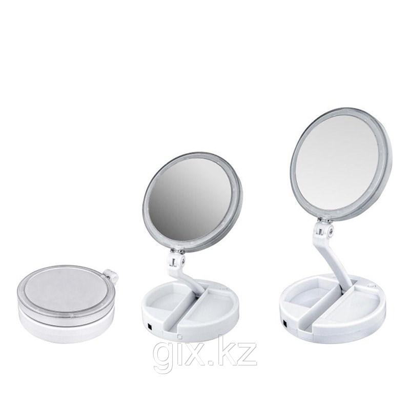 Зеркало с подсветкой My Fold Away Mirror 1х/10х
