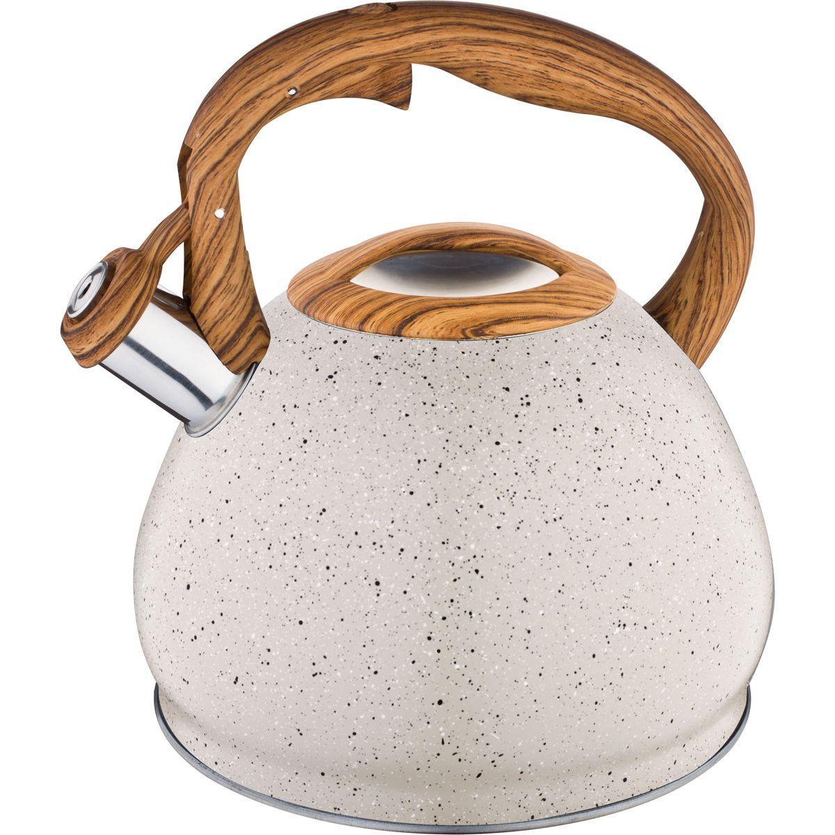 Чайник со свистком Agness термоаккумулирующее дно (3 л)