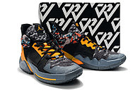 "Air Jordan Why Not Zer0.2 ""Black/Yellow"" (40-46) , фото 5"