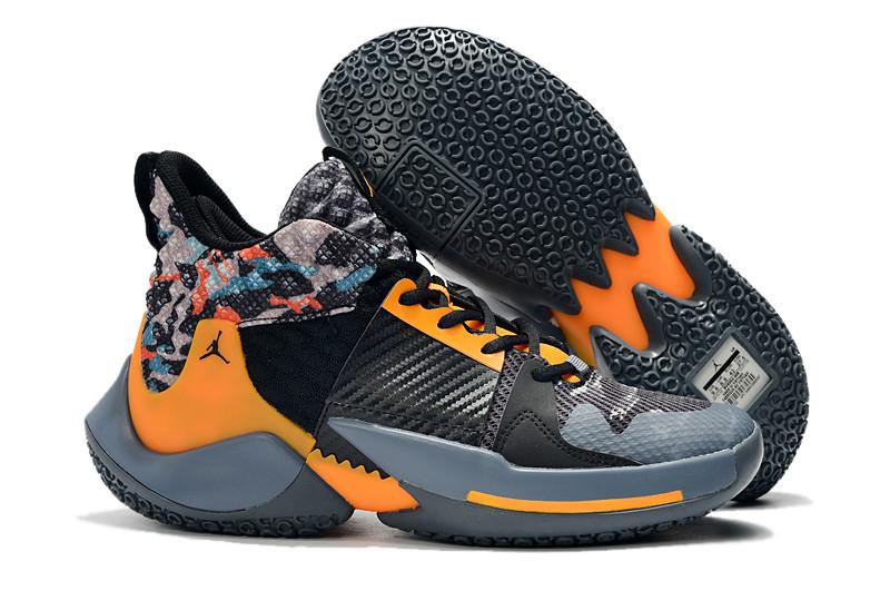 "Air Jordan Why Not Zer0.2 ""Black/Yellow"" (40-46)"