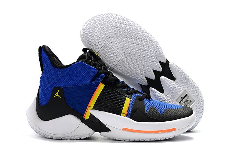 "Air Jordan Why Not Zer0.2 ""Black/Blue"" (40-46)"