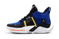 "Air Jordan Why Not Zer0.2 ""Black/Blue"" (40-46) , фото 5"