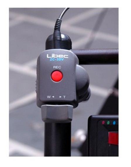 Libec zc-3dv Zoom пульт контроль для управление зумом и записью-пауза