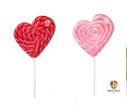 Карамель леденцовая в виде Сердца 55 гр. Sweet Ness