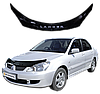 Мухобойка (дефлектор капота) на Mitsubishi Lancer Митсубиши лансер 9 2003-2007