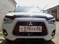 Мухобойка (дефлектор капота) на Mitsubishi ASX 2013-, фото 1