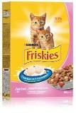 Friskies Junoir - Фрискис сухой корм для котят, с курицей, морковью и молоком 2