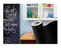 Стикер настенный для рисования мелом «BACK TO SCHOOL»Размер: 200*45 см
