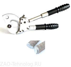 Кабелерез для оптоволоконного кабеля с броней, фото 2