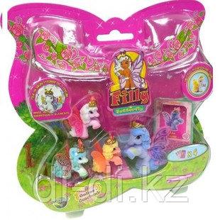 Filly Волшебная семья 4 лошадки