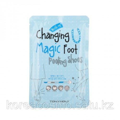 Пилинг для ступней Tony Moly Changing U Magic Foot Peeling Shoes