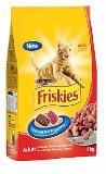 Friskies Фрискис корм сухой для взрослых кошек Мясо, курица и печень 10кг