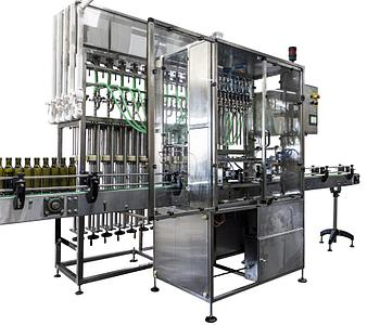 Автоматический розлив ПАККА-РЗ-10М (поршневое дозирование)
