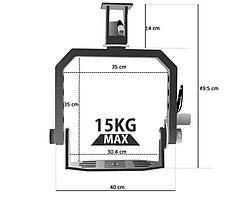 PROAIM POWER /15кг/ Панорамная головка/ для операторского крана, фото 3