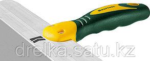 Шпатель KRAFTOOL фасадный с двухкомпонентной ручкой, нержавеющее полотно, 350мм, фото 2