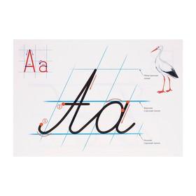 Набор 'Учимся каллиграфии' образцы написания букв, 32 стр., А4 - фото 4