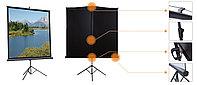 """Экран для проектора на треноге Mr.Pixel 60"""" X 60"""" (1,52 X 1,52)"""