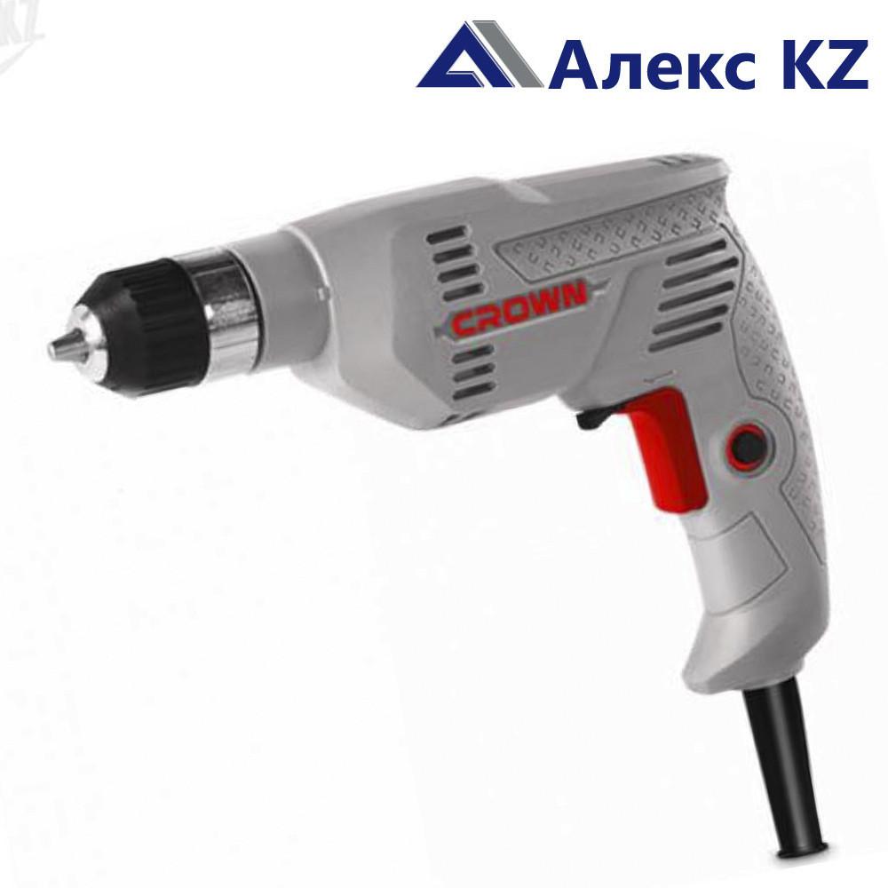 Дрель электрическая CROWN СТ 10126 KLC, d 10 мм/400 W