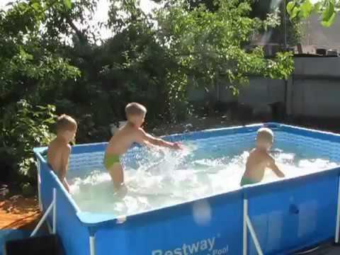 Детский бассейн Bestway 56403 (259*170*61 см)