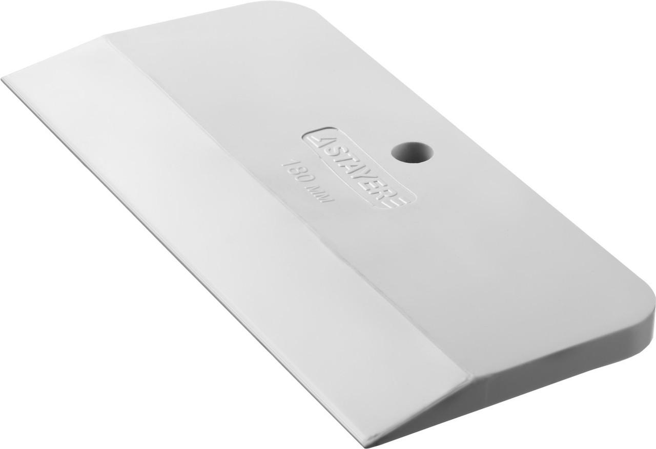 Шпатель резиновый белый 180 мм