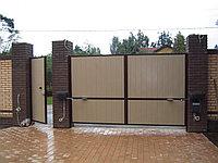 Распашные ворота в Алматы, фото 1