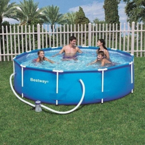 Каркасный бассейн Bestway 56408 (305*76) см с насосом