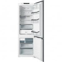 Встраиваемый комбинированный холодильник Smeg C7280NЕP No-frost