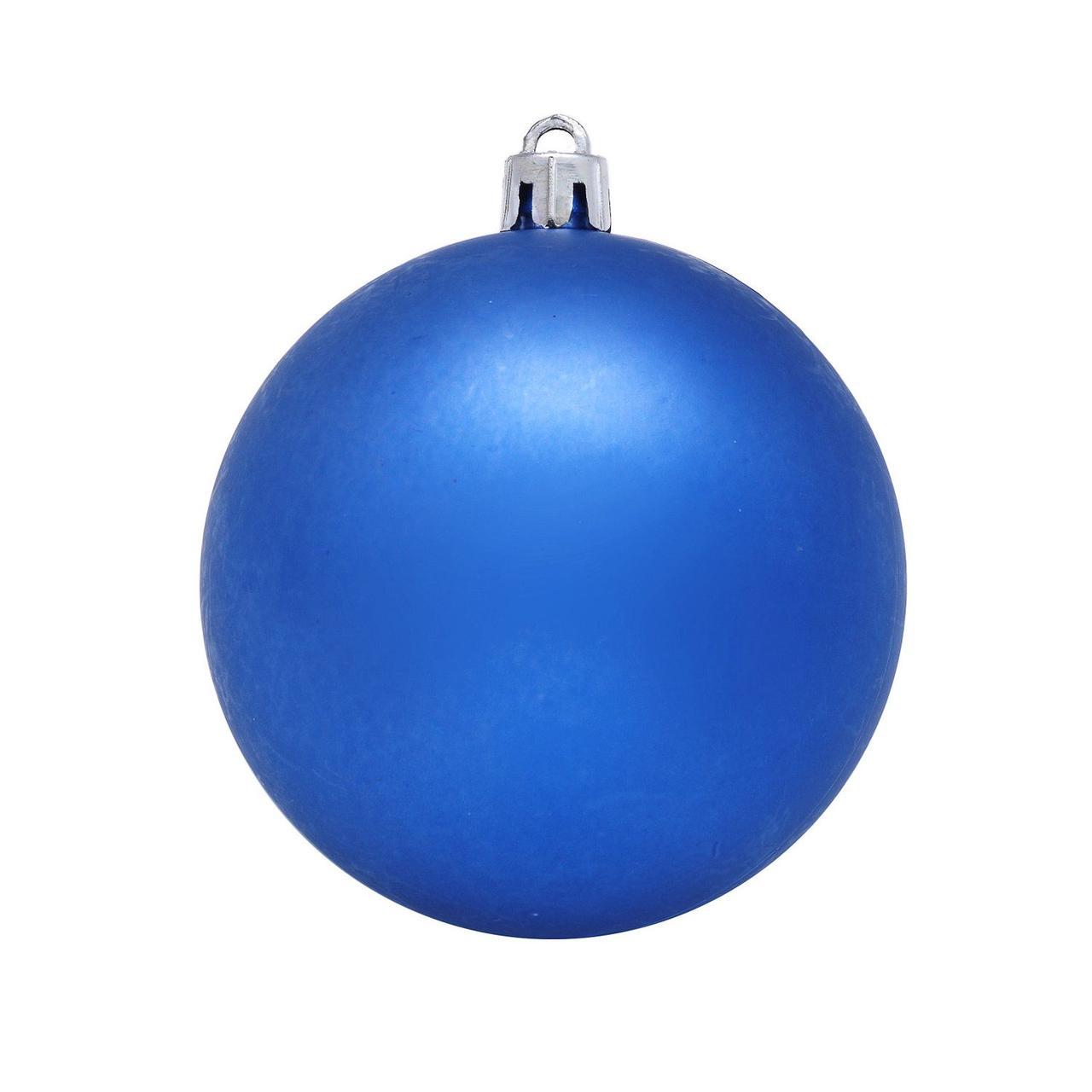 Шар новогодний синий