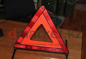 Знак аварийной остановки R39, светоотражающий, складной, футляр для хранения