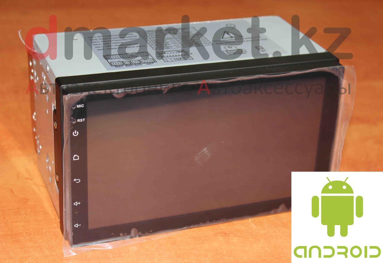Автомагнитола Android ZX-5500, 2DIN, 7 дюймов, Wi-Fi, GPS, ОЗУ 1Гб, память 16 Гб