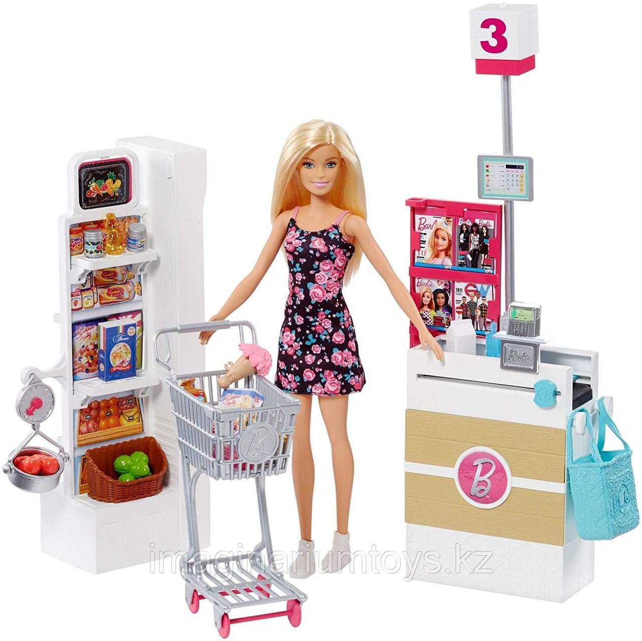 Barbie Игровой набор Супермаркет Барби