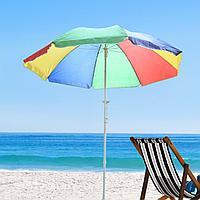 Пляжный зонтик круглый, диаметр 1,5 м