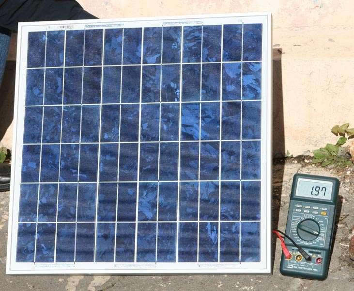 Солнечная батарея 30 Вт (12 В) CHN30-36P
