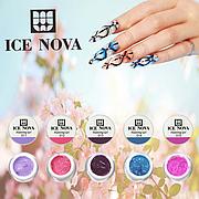 ICE NOVA Гель краска для росписи на ногтях